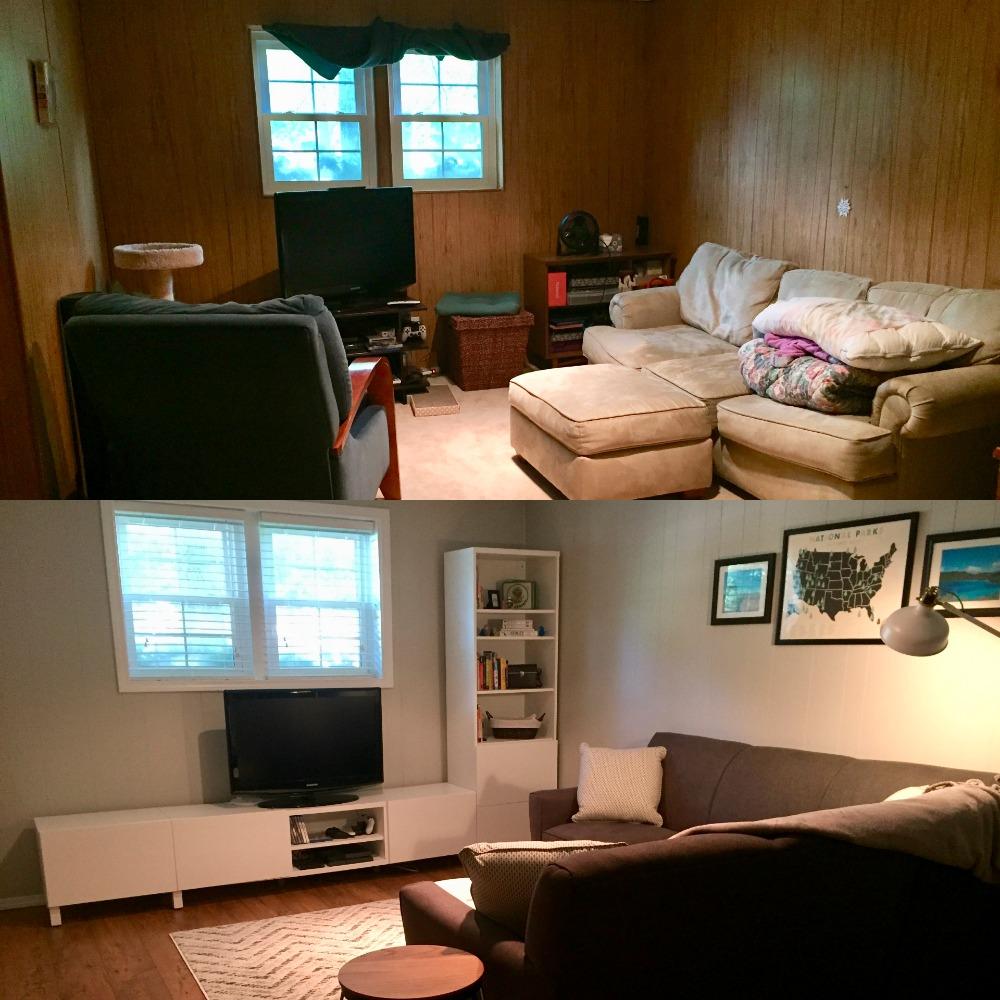 family room renovation