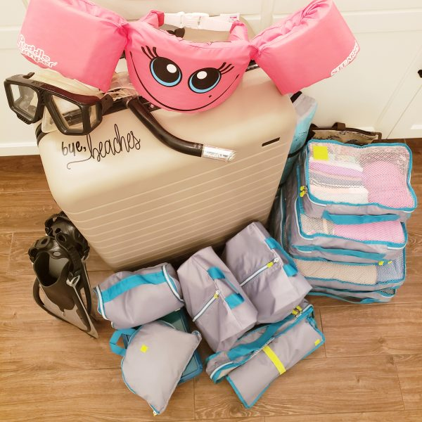 how to pack with kids
