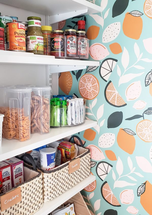 Fun + Fresh Pantry Remodel