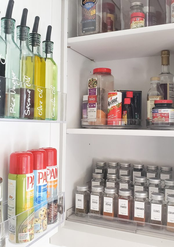 How-to: Spice Cabinet Organization
