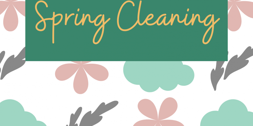 4 Week Spring Cleaning Guide