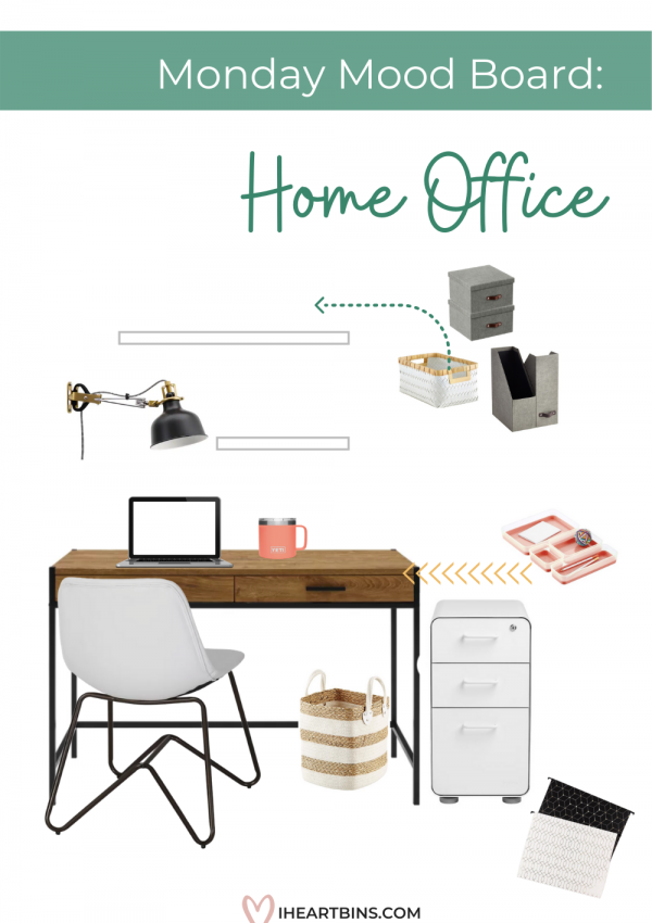 Mood Board Monday: Home Office Organization