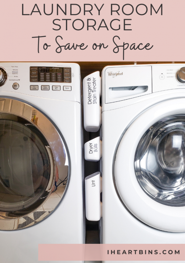 Laundry Room Storage to Save on Space