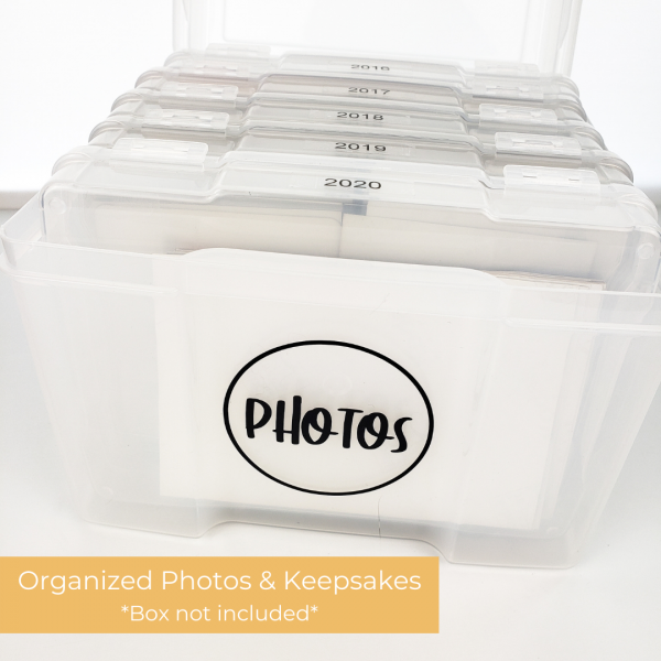 Photo Storage Box