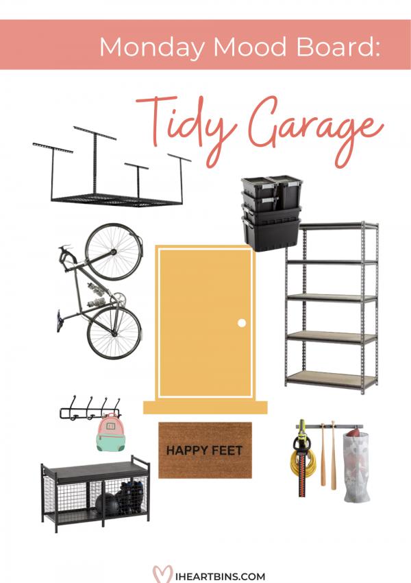 Mood Board Monday: The Tidy Garage