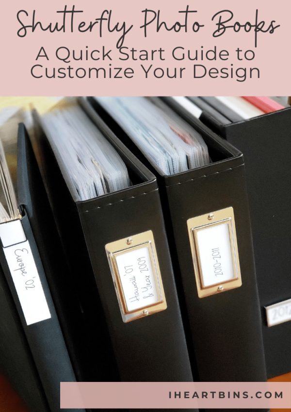 Shutterfly Photo Album: A Quick Start Guide to Customize Your Design