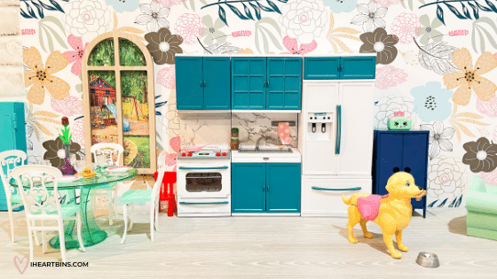 Barbie Doll Kitchen