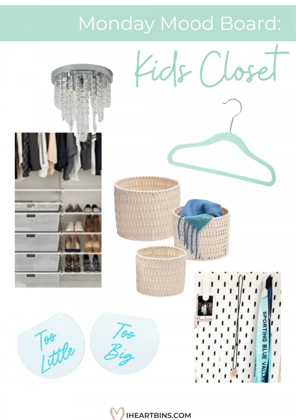 Mood Board Monday: Kids Closet Essentials with Custom Style