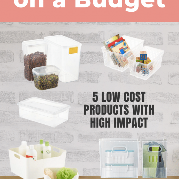 budget friendly organization